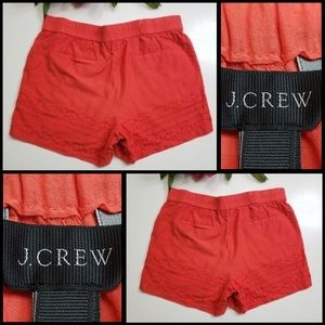 J Crew woman casual dress short pull on Red size M